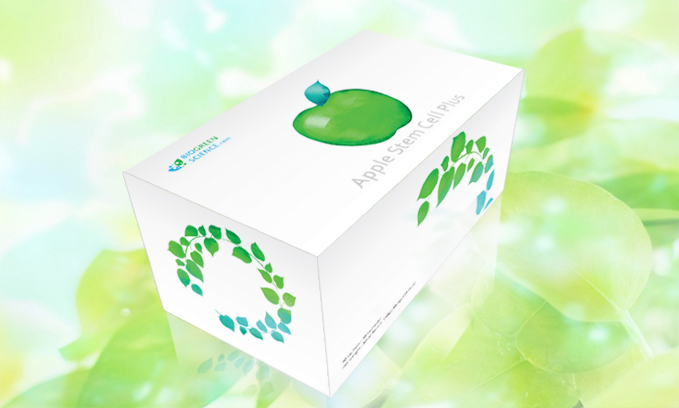 Apple Stem Cells with Collagen