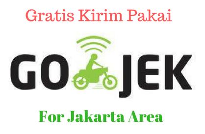 Gratis Kirim Pakai Gojek Untuk Area Jakarta*